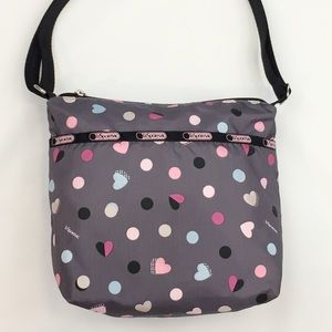 Lesportsac Heart Parade Shellie Crossbody Bag